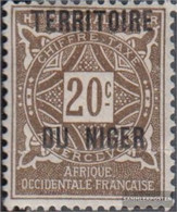 French-Niger P4 With Hinge 1921 Postage Stamps - Niger (1921-1944)
