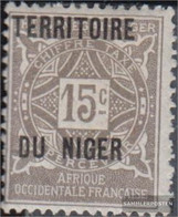 French-Niger P3 With Hinge 1921 Postage Stamps - Niger (1921-1944)