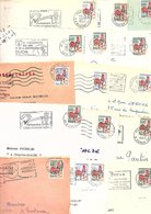 FRANCE MARCOPHILIE TYPE COQ LOT DE LETTRES 1.050 GRAMMES - Lots & Kiloware (mixtures) - Min. 1000 Stamps
