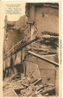 """2523 """" EVENEMENTS DE FEZ-17/19 AVRIL 1912-RUINES DES PRINCIPALES MAISONS DU MELLAH INCENDIES.... """" CART. ORIG. NON SPED. - Fez"""