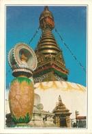 "Swayambhunath (Nepal) Temple, The Great ""Stupa"", Tempio Della Scimmia - Nepal"