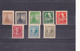 Thuringe  Neuf  1945  N° 1/8  Sapin, Cor De Postillon, Personnalités - Zone Soviétique