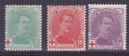 Belgique, Croix Rouge N°129 à 131 Neuf*, Cote 20€ ( W1912/034) - Belgium