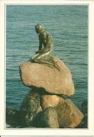 "Copenhagen (Danimarca, Danmark) ""Langeline"" The Little Mermaid, La Petite Sirene, La Sirenetta - Danimarca"