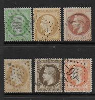 Napoléon  - 6 Timbres  - Cote : 135 € - France