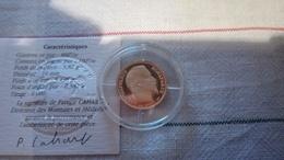 """Monnaie De Paris Belle Epreuve OR 10 FRANCS """"Napoléon"""" 1991 F. - Francia"""