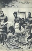 "2528 "" AFRICA ORIENTALE - GUERRIERI CUNAMA "" CART. ORIG. NON SPED. - Eritrea"