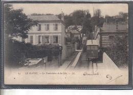 Carte Postale 76. Le Havre  Le Funiculaire De La Côte  Très Beau Plan - Le Havre