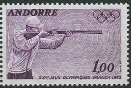 //// JO 1972 Andorre FR (MNH) Yvert 220 ** Michel 241 ** - Ete 1972: Munich