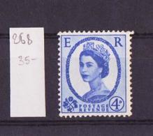 Grande Bretagne - Great Britain - Großbritannien 1952-54 Y&T N°268 - Michel N°263 *** - 4p Reine Elisabeth II - 1952-.... (Elizabeth II)
