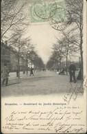 Bruxelles : Bd Du Jardin Botanique - Bossen, Parken, Tuinen