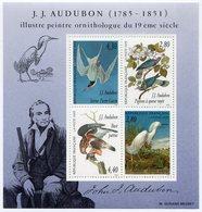 RC 11483 FRANCE BF N° 18 OISEAUX ORNITHOLOGUE JJ AUDUBON  NEUF ** TB - Birds