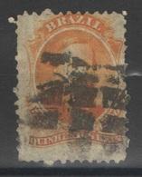 Brésil - YT 29 Oblitéré - 1866 - Brasil