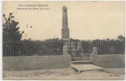 11.LES CAVES DE TREILLES.   MONUMENT AUX MORTS - Other Municipalities