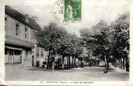 SEZANNE  (51) Mail De Marseille - Sezanne
