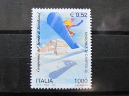 *ITALIA* USATI 2001 - ITALIA IN GIAPPONE 2001 - SASSONE 2519 - LUSSO/FIOR DI STAMPA - 6. 1946-.. Repubblica