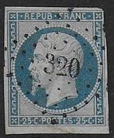 Napoléon  - N° 10   - Cote : 45 € - 1852 Louis-Napoléon
