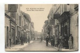 Aigues-Mortes (30) - Grand'Rue Jean-Jaurès - CPA Avec Belle Animation - Aigues-Mortes