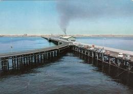 VINTAGE KUWAIT POSTCARD - OIL PIPELINE - Koweït