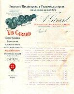 PARIS.PRODUITS HYGIENIQUES & PHARMACEUTIQUES DE LA CROIX DE GENEVE.A.GIRARD 22 RUE DE CONDE. - Chemist's (drugstore) & Perfumery