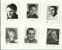 *6 X  FILM/Chromo-photo *MIKEY ROONEY-KENT TAYLOR-ERROL  FLYNN -THOMAS GOMEZ-OLIVIA DE HAVILLAND-BERT WEELHER - Photos