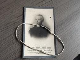 Van Woensel,heyst-op-den-berg 1855,Priester,Onderpastoor Cumptich Vorst,Pastoor Cortryck Dutzel,Holzbeek 1928. - Religion & Esotérisme