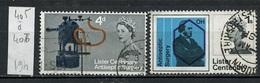 Grande Bretagne - Great Britain - Großbritannien 1965 Y&T N°405 à 406 - Michel N°390 à 391  (o) - Antiseptie - 1952-.... (Elizabeth II)