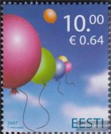Estonia 586 (complete Issue) Unmounted Mint / Never Hinged 2007 Children - Estonia