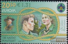 Estonia 585 (complete Issue) Unmounted Mint / Never Hinged 2007 Europe - Estonia