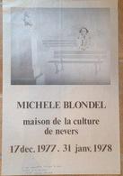 Affiche Maison De La Culture De Nevers - Altre Collezioni