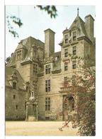 Vougay (29) Le Chateau De Kerjean (16° Siecle ) La Cour D'honneuret Le Pavillon Central - Saint-Vougay