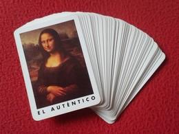 BARAJA DE CARTAS PLAYING CARDS POKER NAIPES VELMONIT CON LA GIOCONDA DE LEONARDO DA VINCI Y SUS VERSIONES VERSIONS VER - Barajas De Naipe