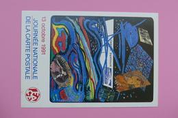 JOURNEE INTERNATIONALE DE LA CARTE POSTALE 13 Octobre 1991 - Autres