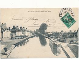 SAINT AMAND - Le Canal Du Berry - Saint-Amand-Montrond