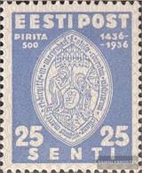 Estonia 123 Unmounted Mint / Never Hinged 1936 Brigittenkloster Pirita - Estonia