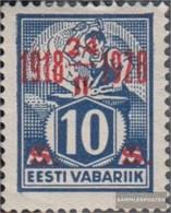 Estonia 70 MNH 1928 10 Anni L'indipendenza - Estonia