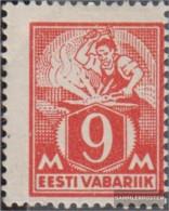 Estonia 38A Unmounted Mint / Never Hinged 1922 Clear Brands: Craftsman - Estonia