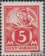 Estonia 37A Unmounted Mint / Never Hinged 1922 Clear Brands: Craftsman - Estonia