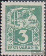 Estonia 36A Unmounted Mint / Never Hinged 1922 Clear Brands: Craftsman - Estonia