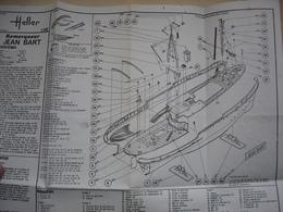 Sept Plans De Maquettes De Bateaux Militaire Et Commerce - Bateaux