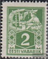 Estonia 34A Unmounted Mint / Never Hinged 1922 Clear Brands: Craftsman - Estonia
