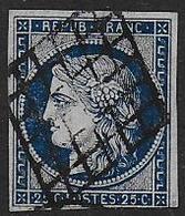 Cérès  - N° 4   - Cote : 65 € - 1849-1850 Ceres