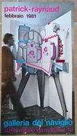 Affiche Patrick Raynaud 1981 - Altre Collezioni
