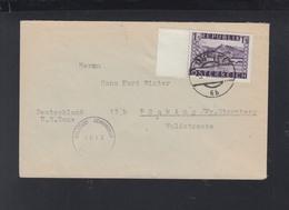 Österreich Brief 1948 Nach Pöcking Zensur - 1945-60 Briefe U. Dokumente