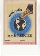 PROTEGE CAHIER- CHAMPAGNE MERCIER - ETAT NEUF - - Buvards, Protège-cahiers Illustrés