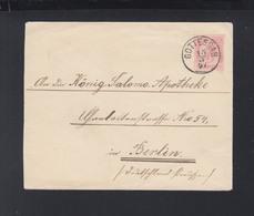 KuK Tschechien Umschlag Gottesgab Boží Dar 1897 - 1850-1918 Imperium