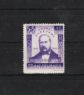 1942 - L Ecrivain Andrei Muresanu Mi 755  MNH - 1918-1948 Ferdinand, Carol II. & Mihai I.