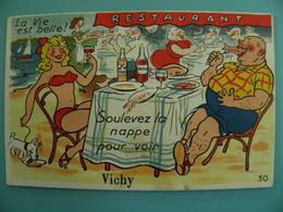 ST/123- 03 - VICHY - Au Restaurant  - . Gaby 30 - Vichy