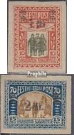 Estland 25-26 (kompl.Ausg.) Mit Falz 1920 Kriegsbeschädigte - Estland