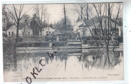 94 Saint Maur - Le Petit Pont De La Rue Pinet - La Banlieue Parisienne Inonée - Janvier 1910 - CPA A. Noyer - Saint Maur Des Fosses